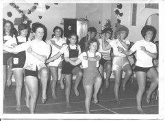 Ladies Keep Fit Class 1971