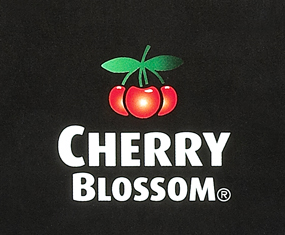 Cherry Blossom Shoe Polish manufactured by Grangers International